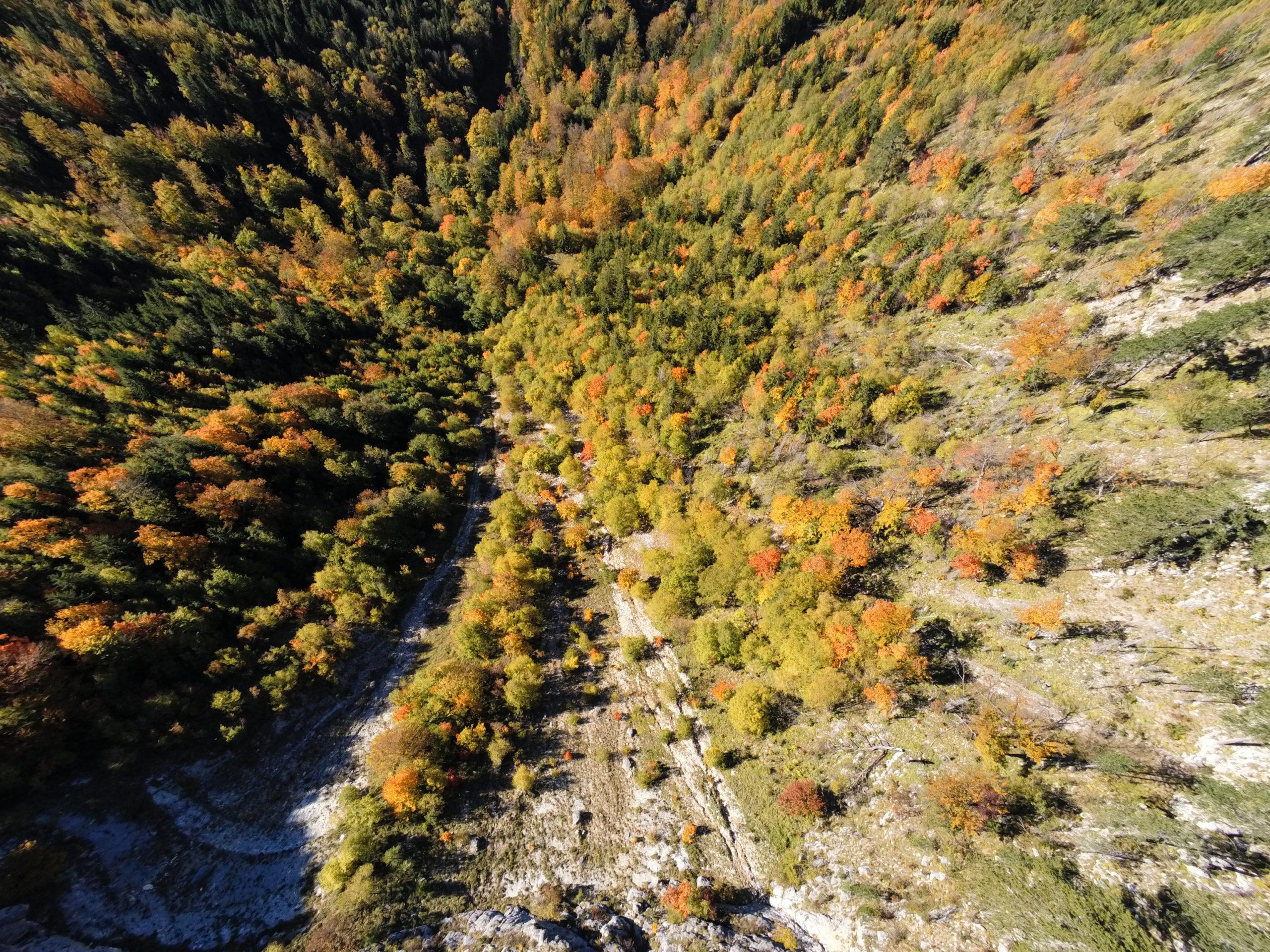 Koricani Cliffs - Drone
